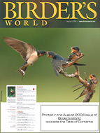 Birder's World magazine cover